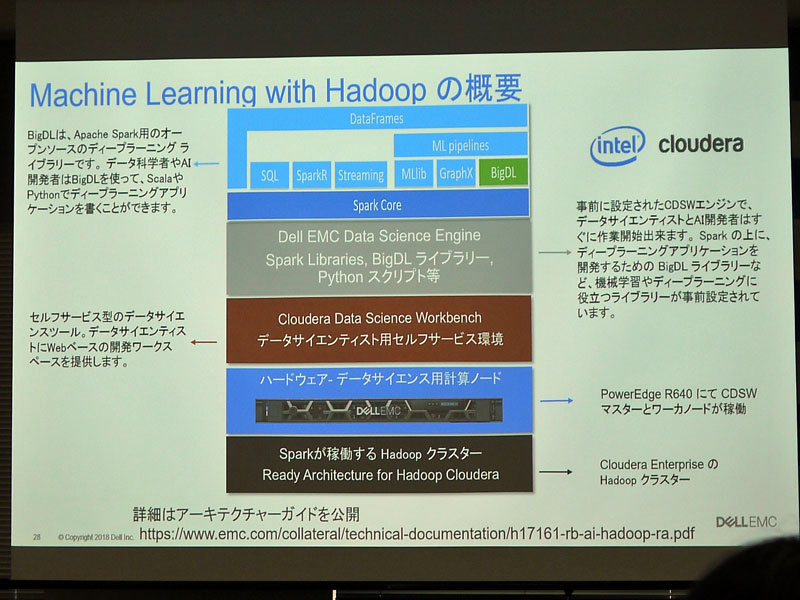 「Machine Learning with Hadoop」の概要