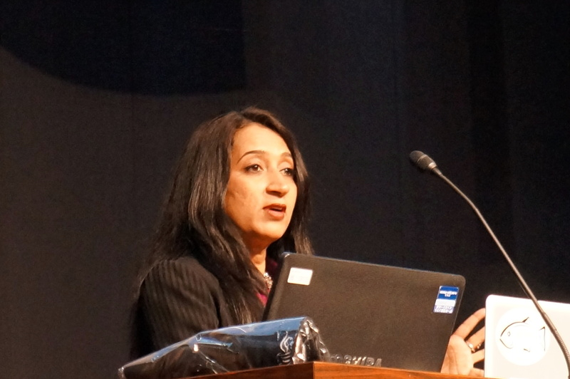 OracleのNandini Ramani氏(Vice President of Engineering, Java Client and Mobile Platforms)