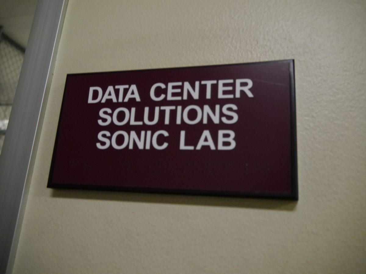 Datacenter Solutions Sonic Lab